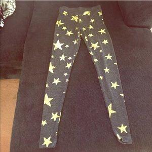 New Chaser brand star leggings xsmall
